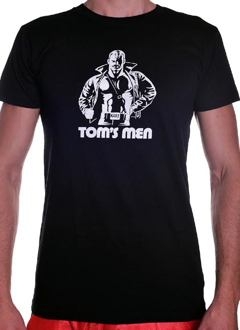 Tom of Finland Kake T-Shirt Black Large