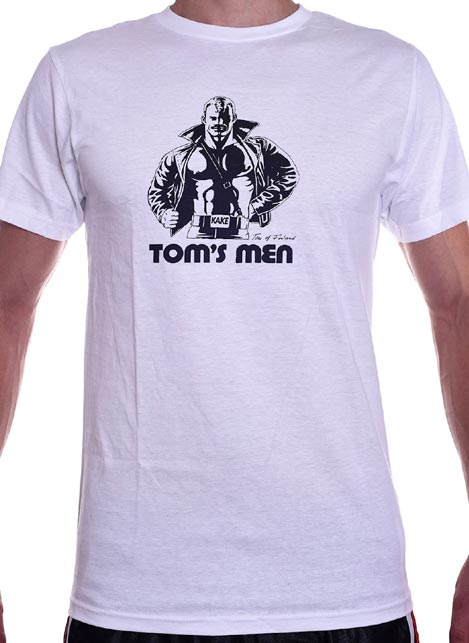 Tom of Finland Kake T-Shirt White Small