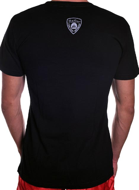 Tom of Finland Boot Print T-Shirt Black Large