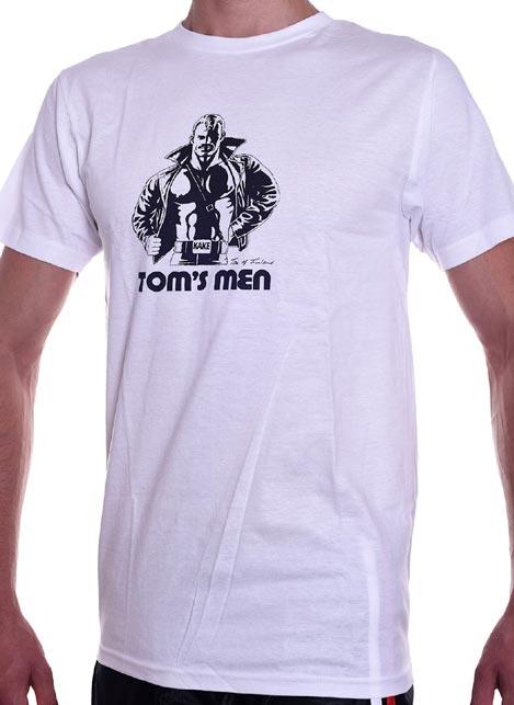 Tom of Finland Kake T-Shirt White Small