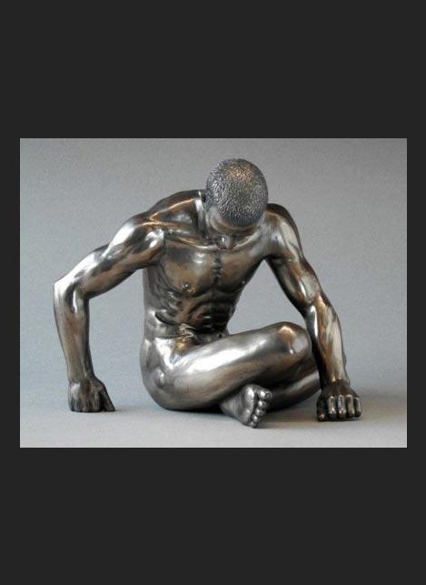 Parastone Statue Man Sitting