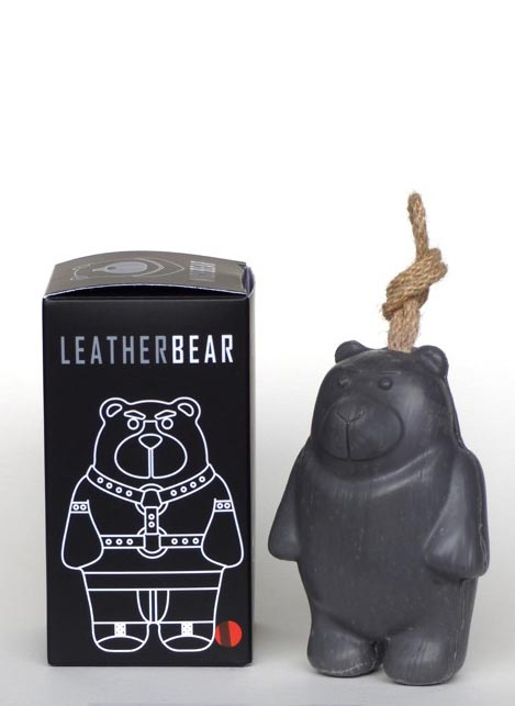 Nicebear Soap on a String Leatherbear