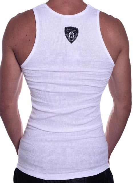 Tom of Finland Master Tank Top White Extra Large