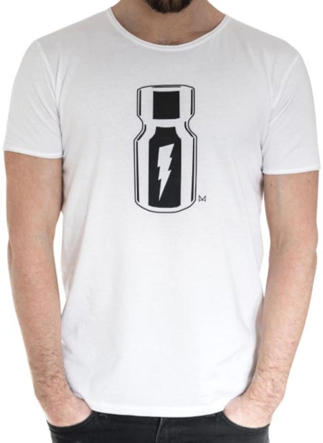 Master of the House Poppers T-Shirt White Medium