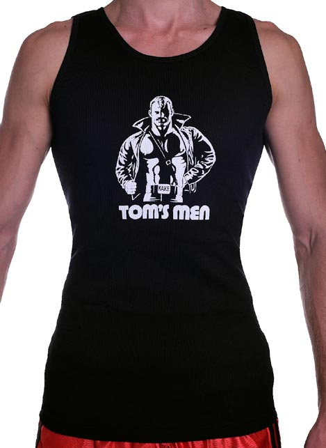 Tom of Finland Kake Tank Top Black Large