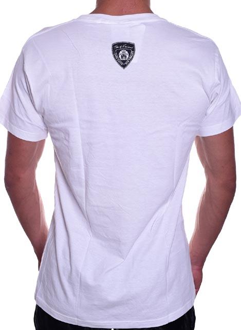 Tom of Finland Hard Place T-Shirt White Medium