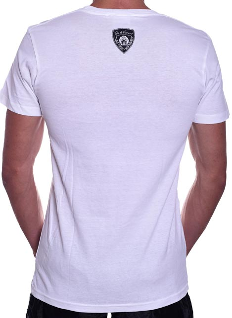 Tom of Finland Hot & Heavy T-Shirt White Extra large