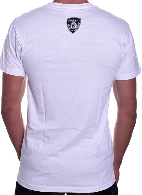Tom of Finland Harness Duo T-Shirt White Small