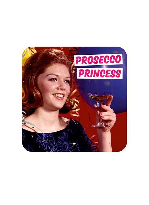Dean Morris Coaster Prosecco Princess