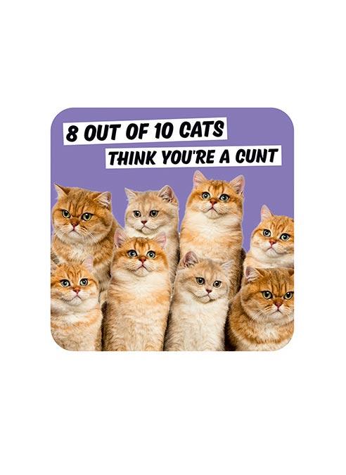 Dean Morris Coaster Cats