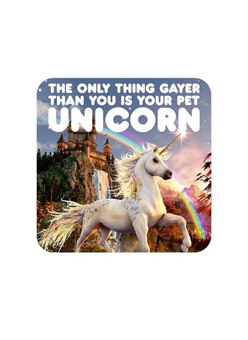 Dean Morris Coaster Unicorn