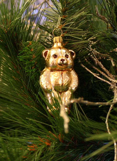 Haberland Teddy Bear Christmas Ornament - 18