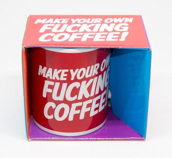 Dean Morris Mug Make your own fucking coffee