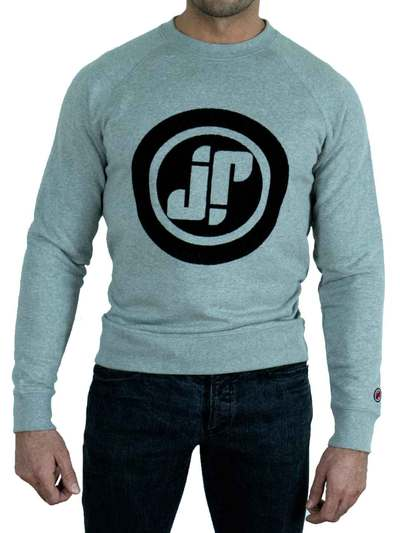 Jockfighters Logo sweater grey extra large