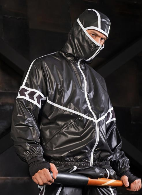 Maskulo Baggy Windbreaker Jacket Large