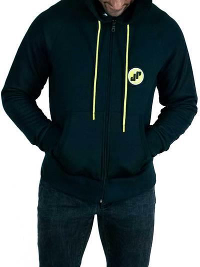 Jockfighters Hoodie sweat jacket black large