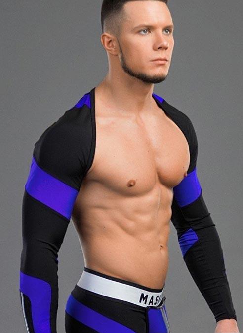Maskulo Sport Sleeves Blue Large