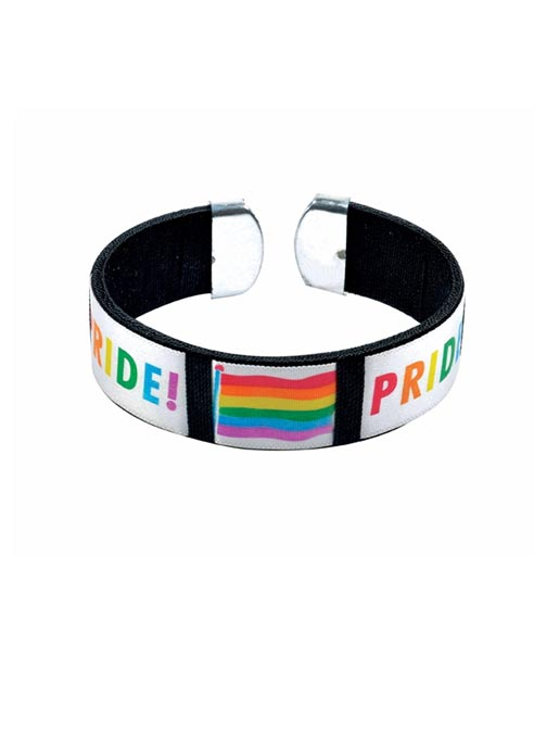 Rainbow Bangle Pride Wide