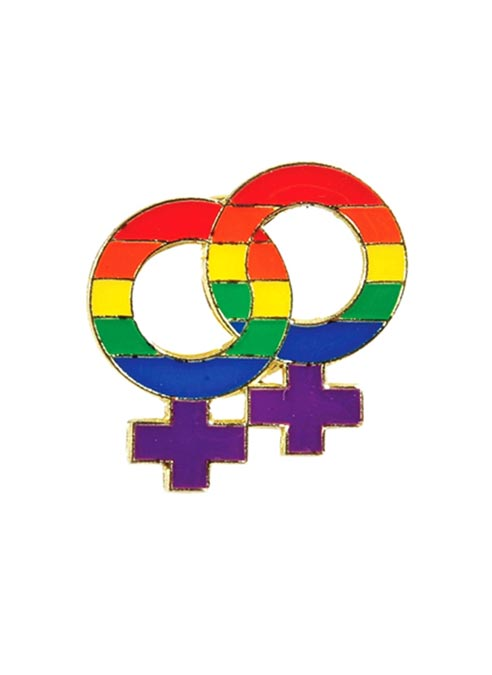 Pride Pin Rainbow Females