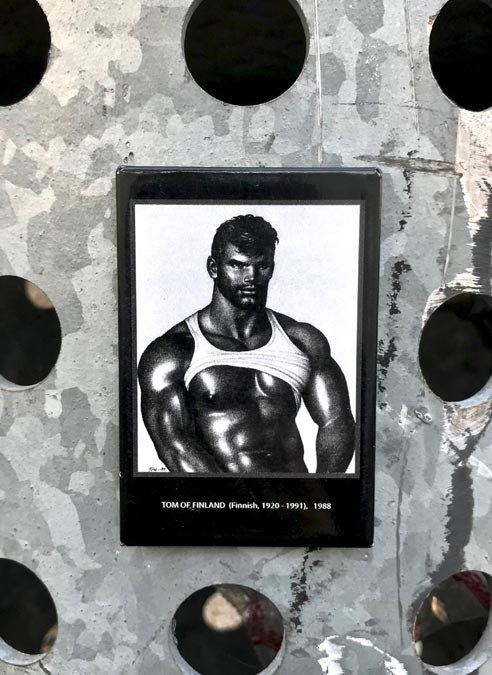 Tom of Finland Magnet Muscle Hunk