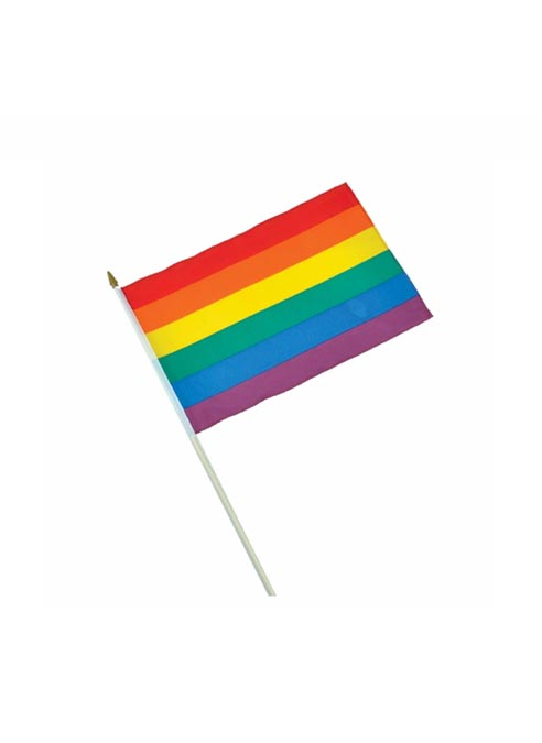 Bureauvlag Rainbow Large 30x45 cm