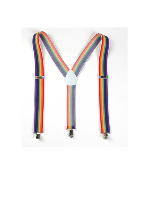 Rainbow Suspenders
