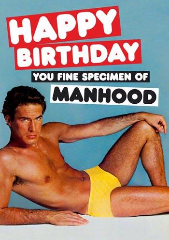 Dean Morris Card Manhood
