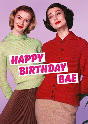 Dean Morris Card Happy Birthday Bae