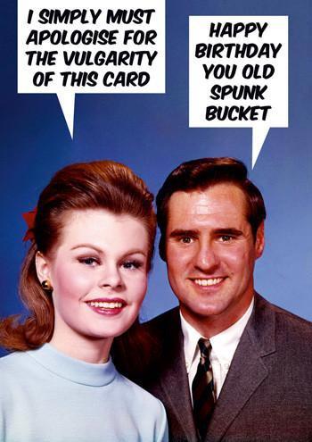 Dean Morris Card Vulgarity