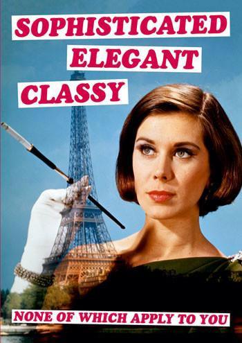 Dean Morris Card Sophisticated Elegant Classy