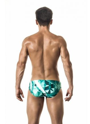Gigo Swimwear Brief Futuristic Large