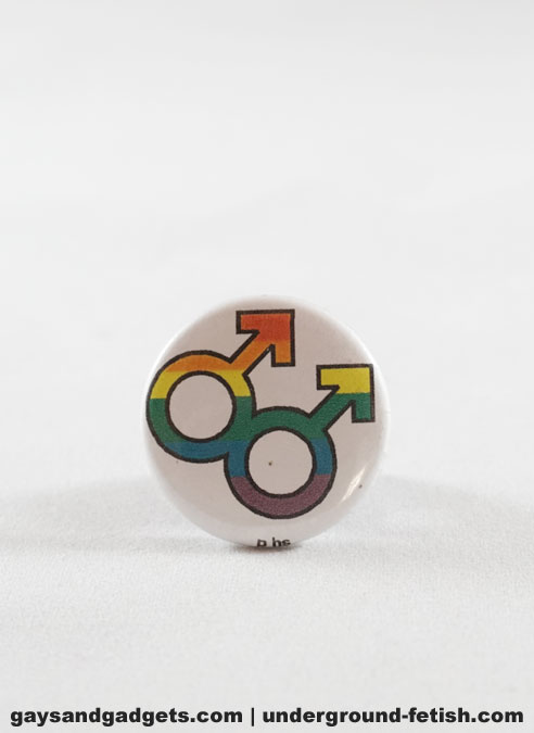 Button Double Male Sign