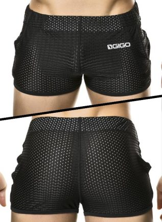 Gigo Sport Shorts Suggestive Black Small