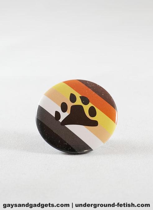 Button Bear Pride