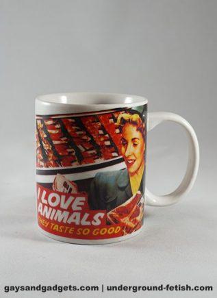 Dean Morris Mug I love Animals