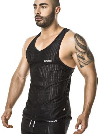 Gigo Tank Suggestive Black Extra Large