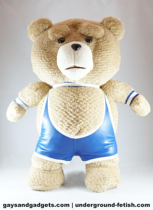 Rubber Bear Singlet Blue