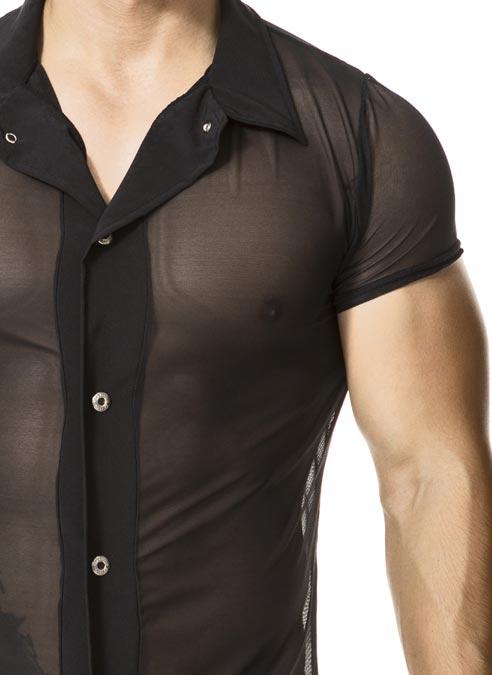 Gigo Button Up Shirt Booster Black Large