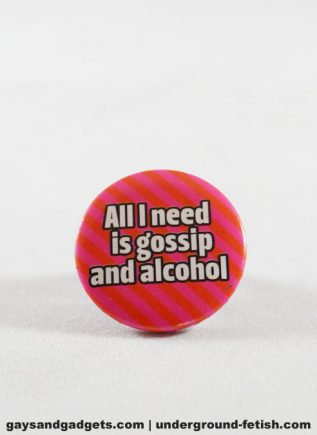 Button Gossip and Alcohol