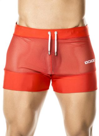 Gigo Sport Shorts Light Red Extra Large