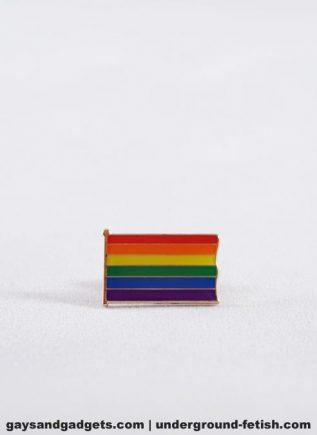 Pride Pin Rainbow Flag Rectangle