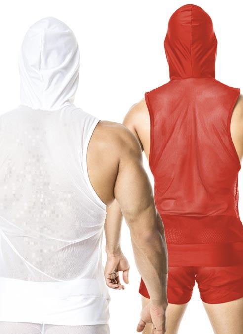 Gigo Hoody T-Shirt Light Red Medium