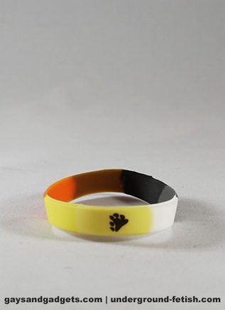 Bear Pride Silicone Bracelet