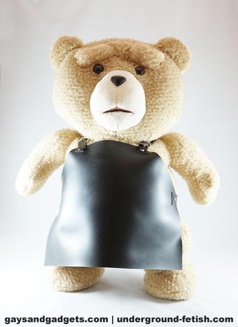 Rubber Bear Apron