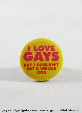 Button I Love Gays