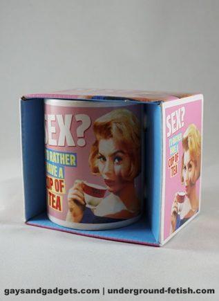 Dean Morris Mug Sex? I'd rather have a cup of tea