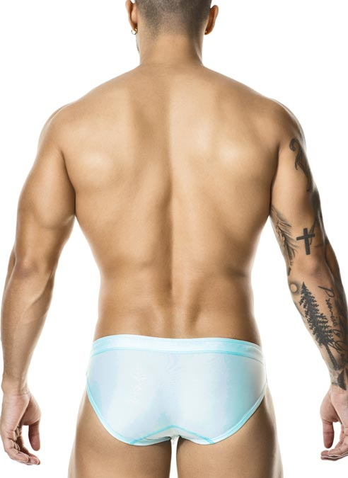Gigo Swimming Brief Basic Aqua Small