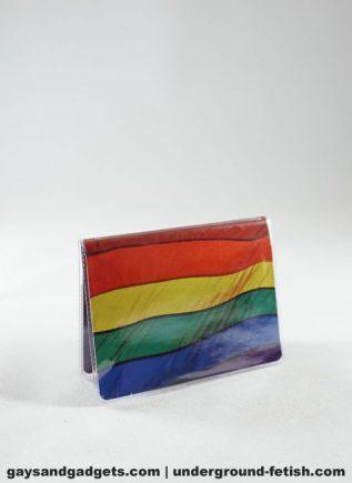 Rainbow Flag Credit Card Cover