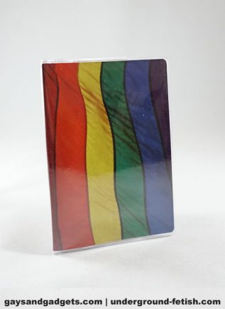 Rainbow Flag Passport Cover
