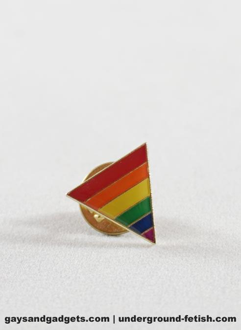Pride Pin Rainbow Triangle
